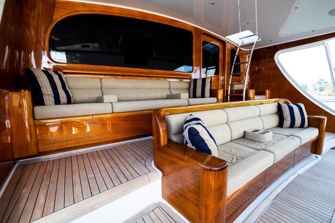 Cockpit 2016 BAYLISS BOATWORKS Sportfish Sport Fisherman 2337650