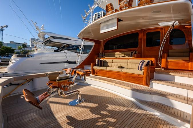 Cockpit 2016 BAYLISS BOATWORKS Sportfish Sport Fisherman 2400105