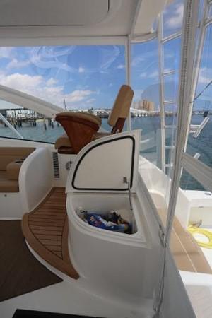 Storage on Bridge Deck 2014 VIKING 42' Open Sport Fisherman 2338320