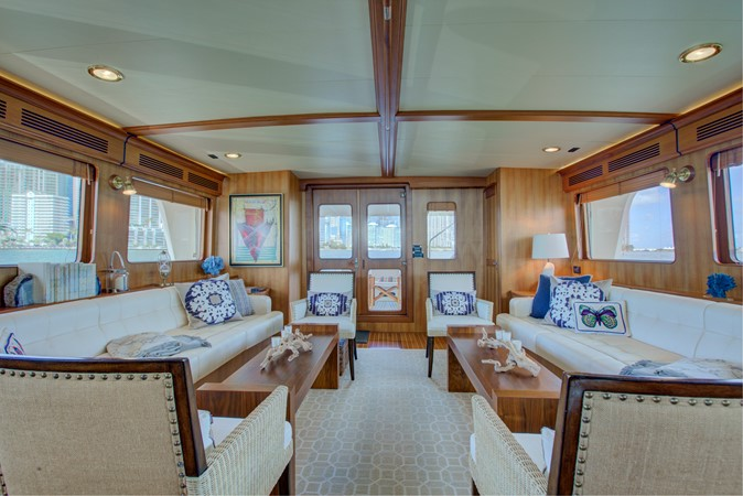 Salon Looking Aft 2015 MARLOW 80-ECB Cruiser 2377207
