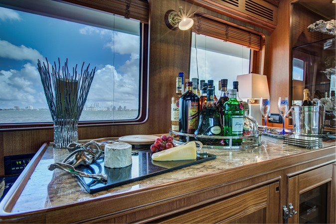 Port Side Wet Bar 2015 MARLOW 80-ECB Cruiser 2377217