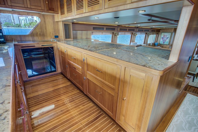 Galley Looking to Starboard SIde 2015 MARLOW 80-ECB Cruiser 2377218