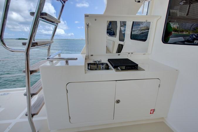 Upper Afte Deck Grill 2015 MARLOW 80-ECB Cruiser 2377241