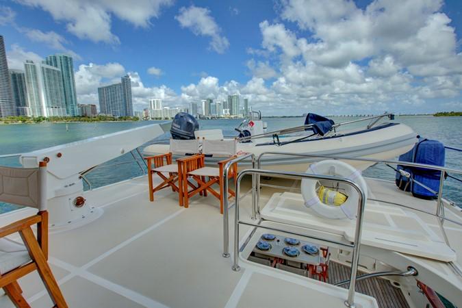 Upper Aft Deck Loading Aft 2015 MARLOW 80-ECB Cruiser 2377244