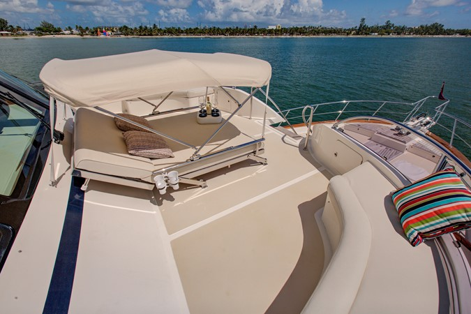 Upper Far Deck Lounge 2015 MARLOW 80-ECB Cruiser 2377258