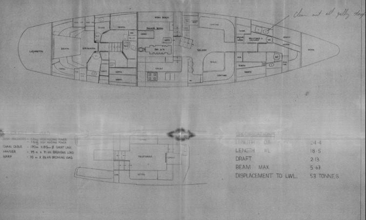1985 DON BROOKE  Cruising Ketch 2348420