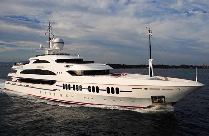 Ambrosia Bow Quarter 2006 BENETTI Diesel Electric ABB Azipod Mega Yacht 2367201