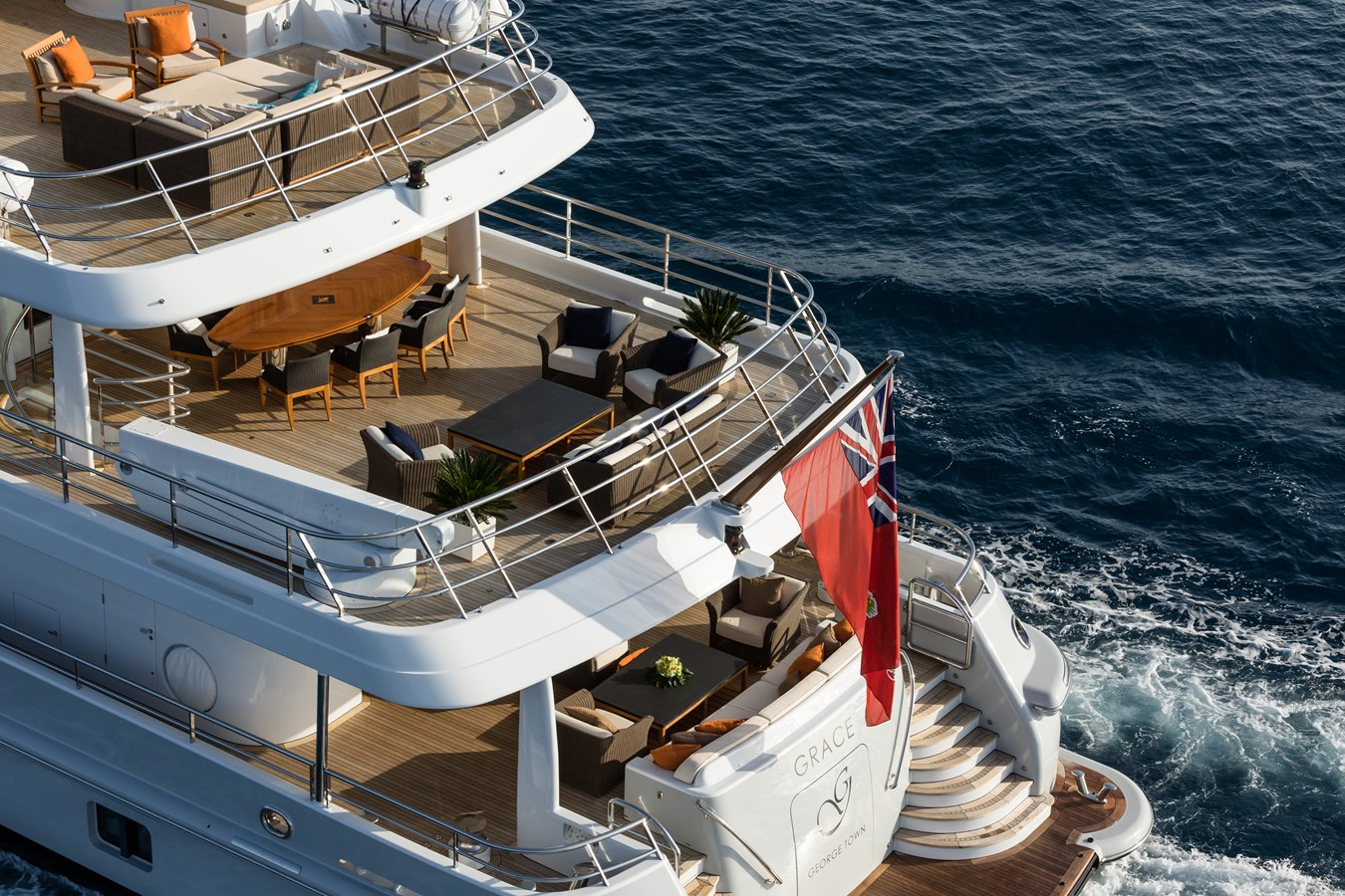 GRACE - Aerial decks 2 2009 AMELS 171 Limited Edition Motor Yacht 2841375