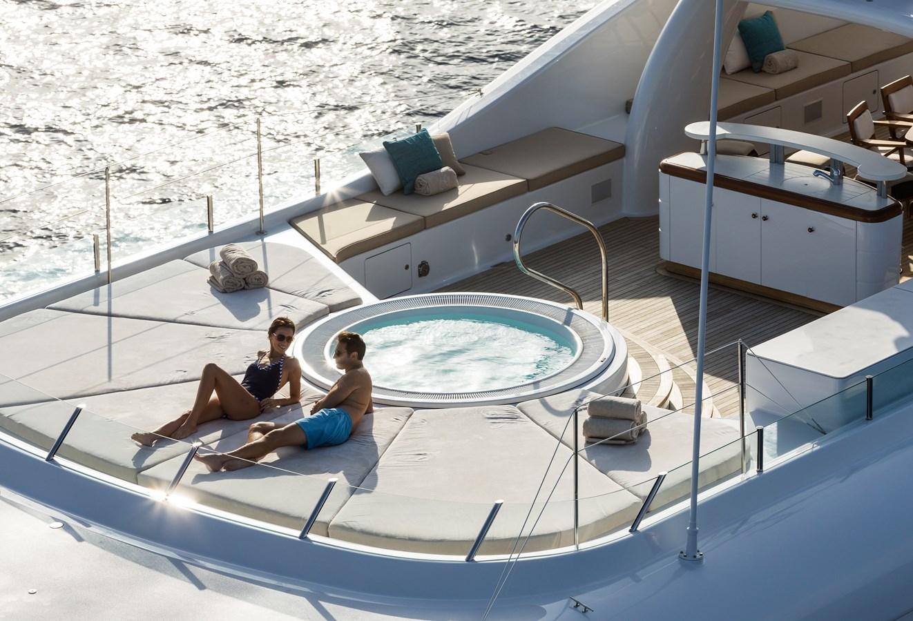 GRACE - Sun deck forward 2009 AMELS 171 Limited Edition Motor Yacht 2841386