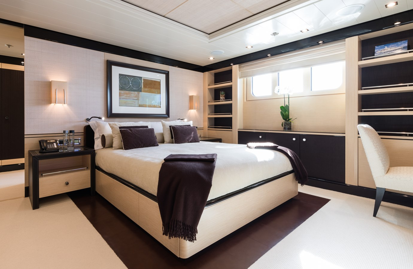 GRACE - VIP cabin 1 2009 AMELS 171 Limited Edition Motor Yacht 2841392