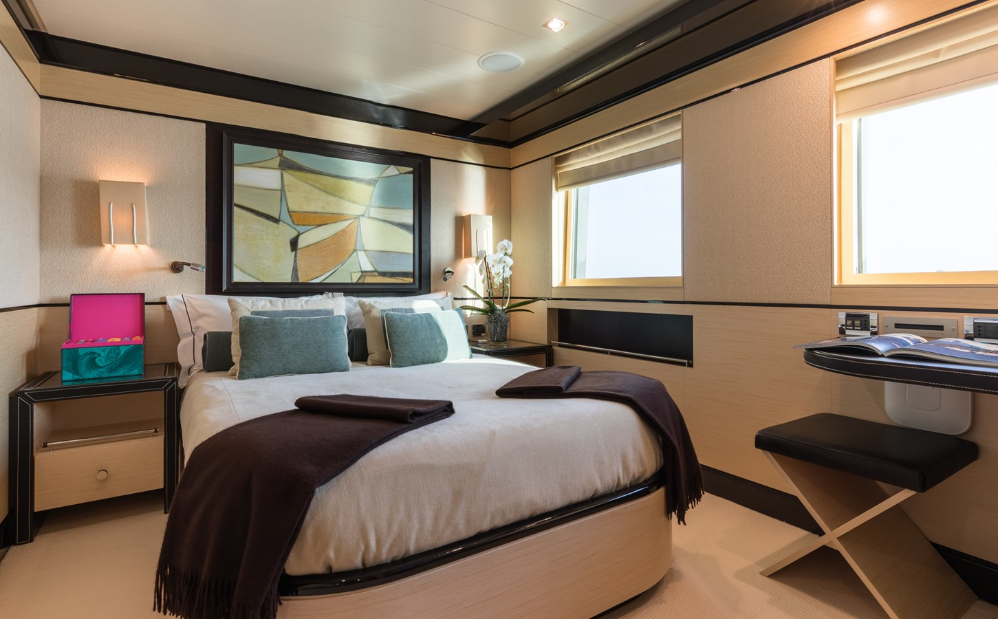 GRACE - VIP cabin 2 2009 AMELS 171 Limited Edition Motor Yacht 2841393