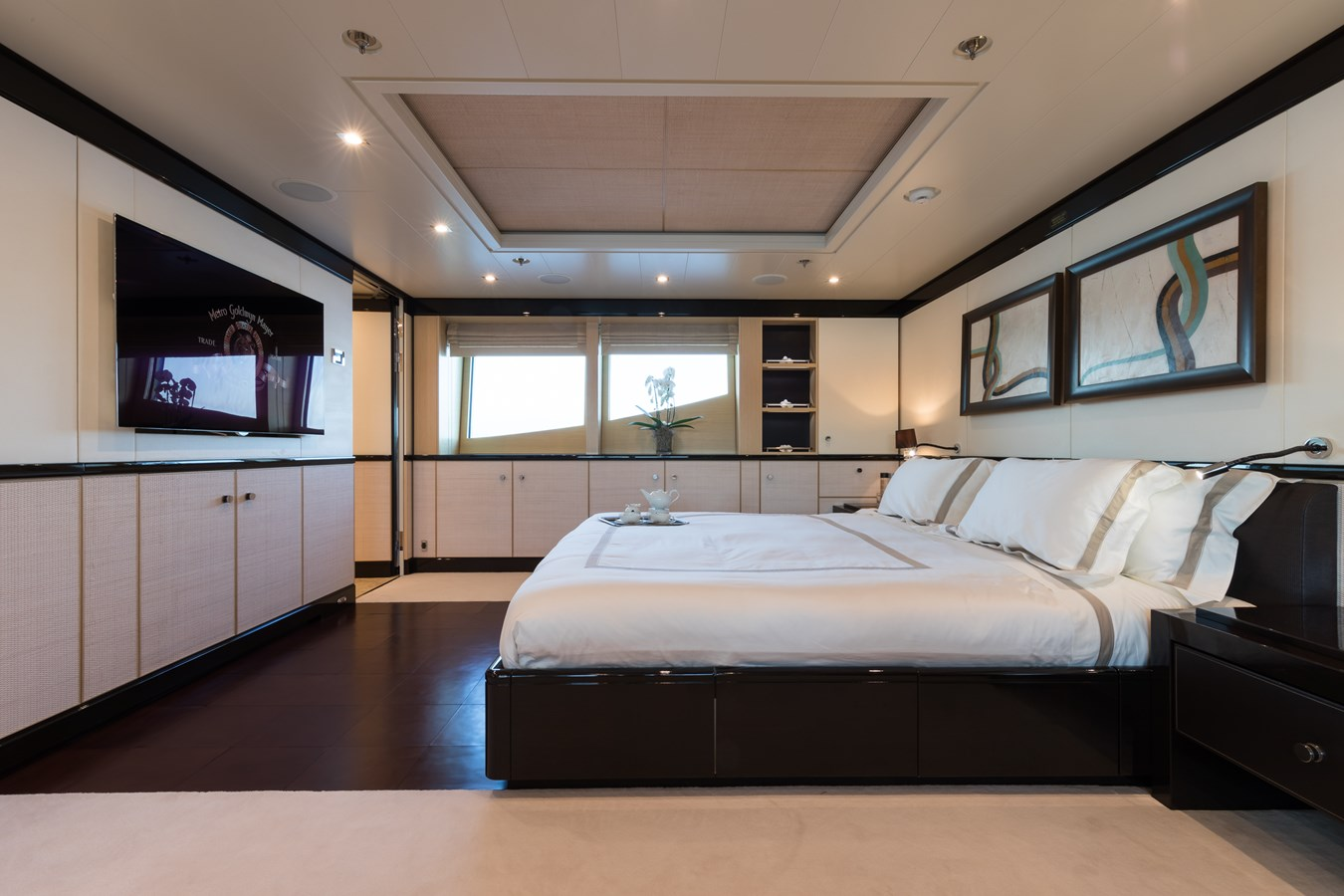 GRACE -Master cabin 2009 AMELS 171 Limited Edition Motor Yacht 2841395