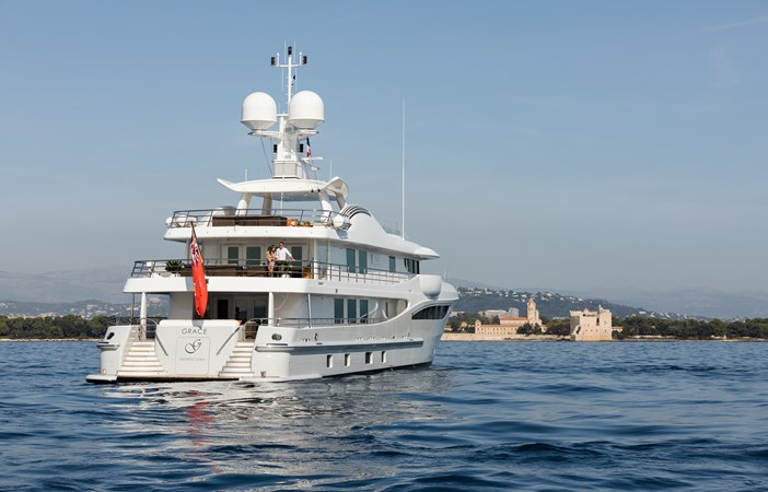 GRACE - General aft veiw 2009 AMELS 171 Limited Edition Motor Yacht 2841377