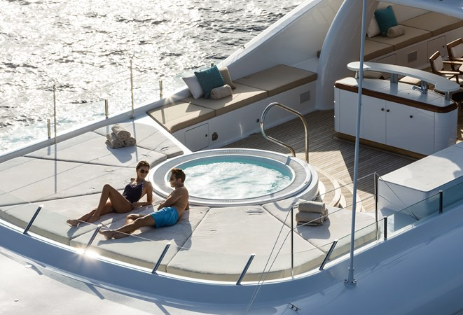 GRACE - Sun deck forward 2009 AMELS 171 Limited Edition Motor Yacht 2841386