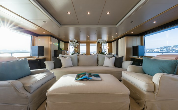 GRACE - Upper deck salon general 2009 AMELS 171 Limited Edition Motor Yacht 2841390