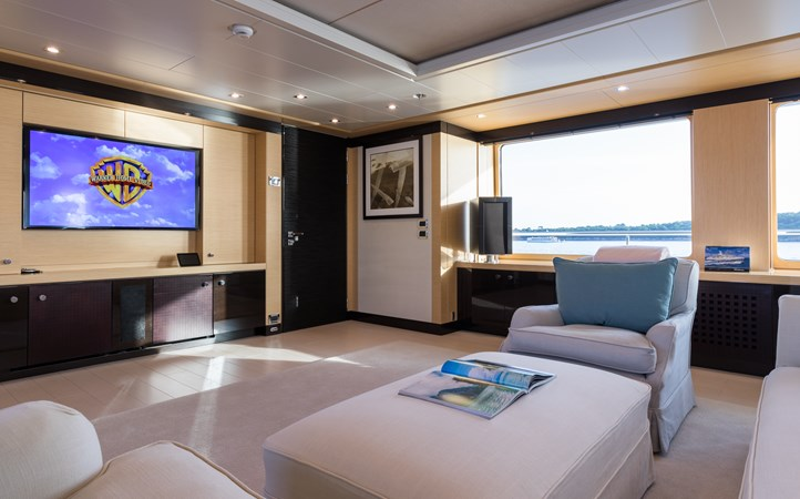 GRACE - Upper deck salon 2009 AMELS 171 Limited Edition Motor Yacht 2841391