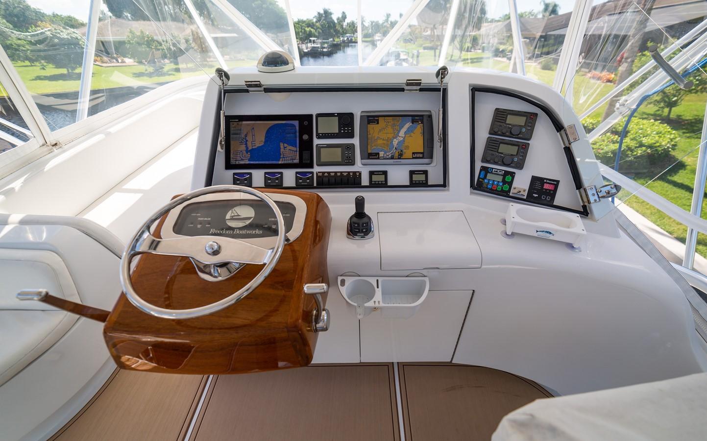 Palm Beach Helm Pod 2010 CUSTOM CAROLINA Convertible Sport-Fisherman Sport Fisherman 2362841