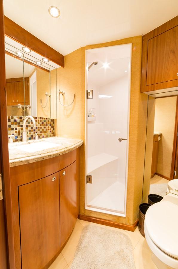 VIP Head w/ separate shower 2010 CUSTOM CAROLINA Convertible Sport-Fisherman Sport Fisherman 2362870