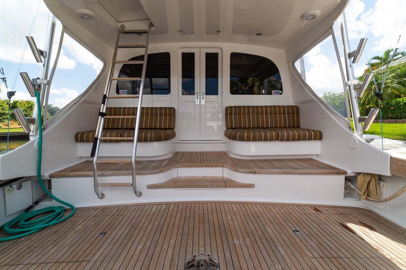 Huge Teak Cockpit with Mezzanine  2010 CUSTOM CAROLINA Convertible Sport-Fisherman Sport Fisherman 2364416