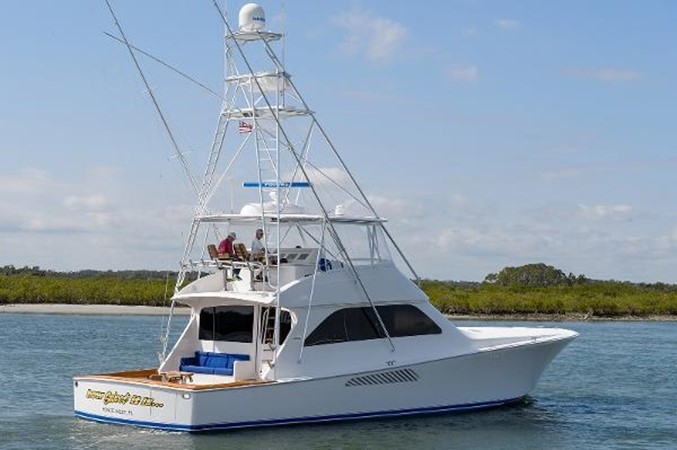 Aft View 2008 VIKING Convertible Sport Fisherman 2362194