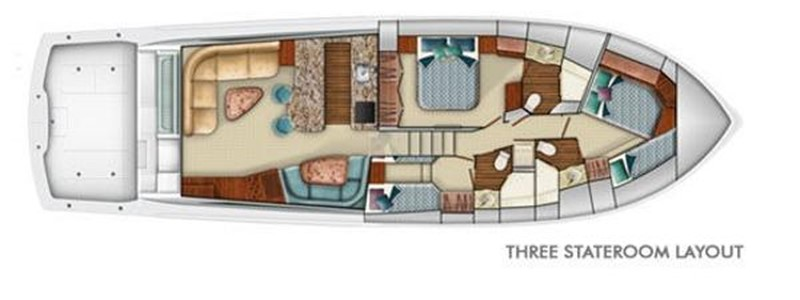 Layout 2008 VIKING Convertible Sport Fisherman 2362195