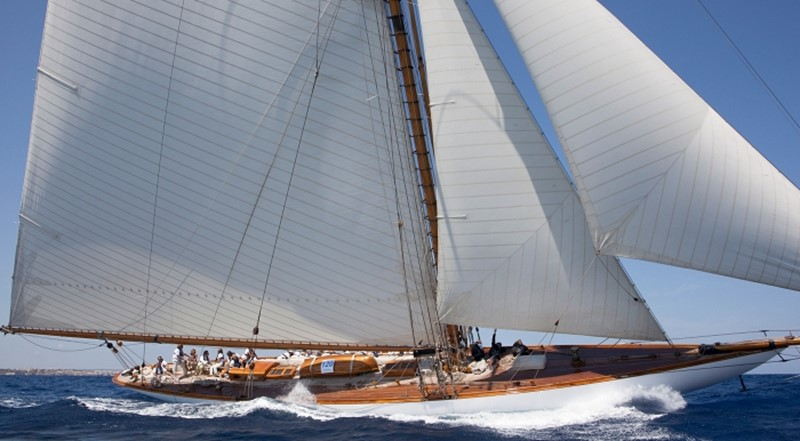 1911 WILLIAM FIFE AND SON 19m Gaff Cutter 1st International Rule Classic Yacht 2367305