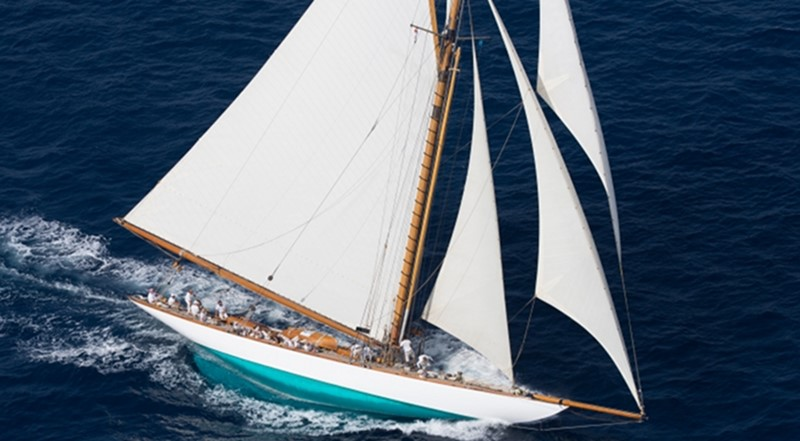 1911 WILLIAM FIFE AND SON 19m Gaff Cutter 1st International Rule Classic Yacht 2367306