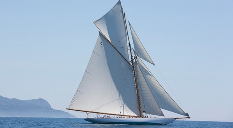 1911 WILLIAM FIFE AND SON 19m Gaff Cutter 1st International Rule Classic Yacht 2367307
