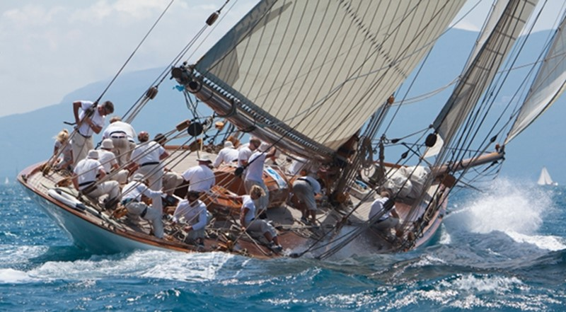 1911 WILLIAM FIFE AND SON 19m Gaff Cutter 1st International Rule Classic Yacht 2367310