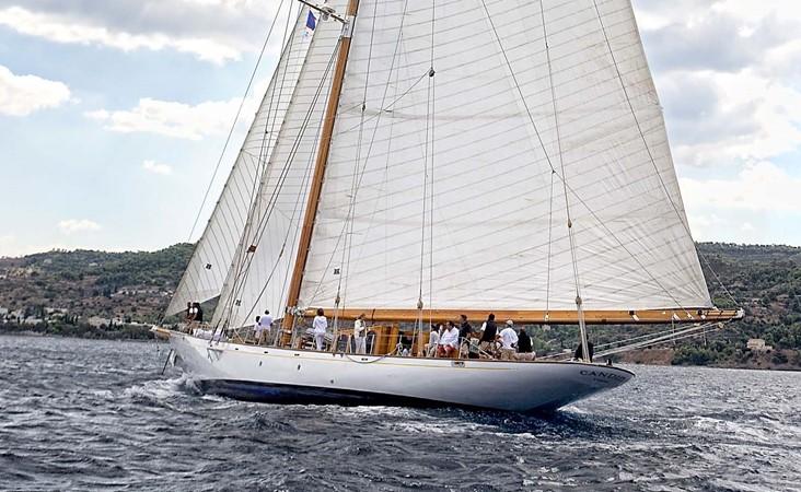 1929 CAMPER & NICHOLSONS  Racing Sailboat 2371523