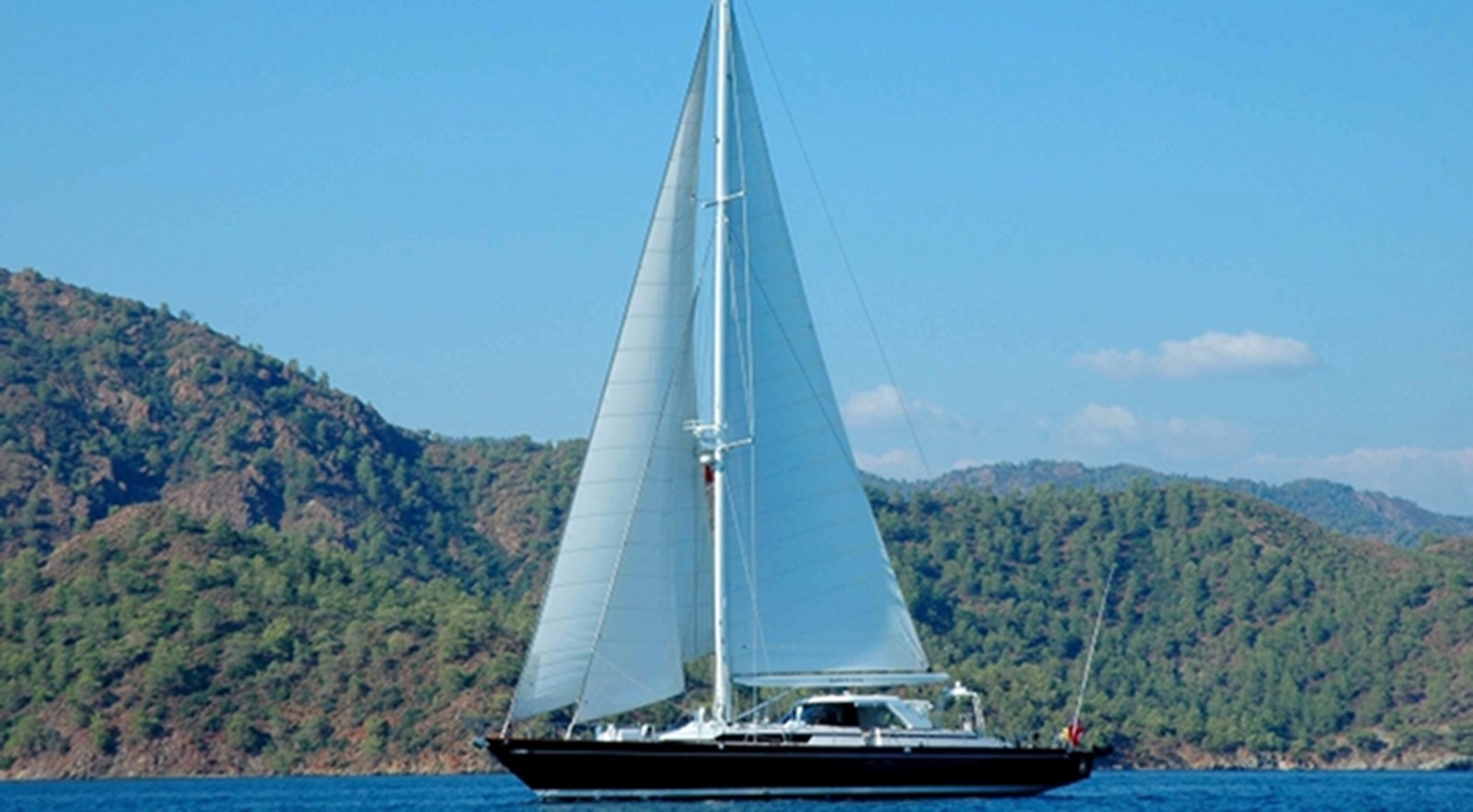 1991 CIM SHIPYARD MAXI 88 Cutter Sloop Cruising Sailboat 2371547