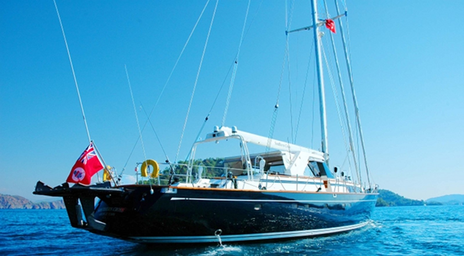 1991 CIM SHIPYARD MAXI 88 Cutter Sloop Cruising Sailboat 2371548