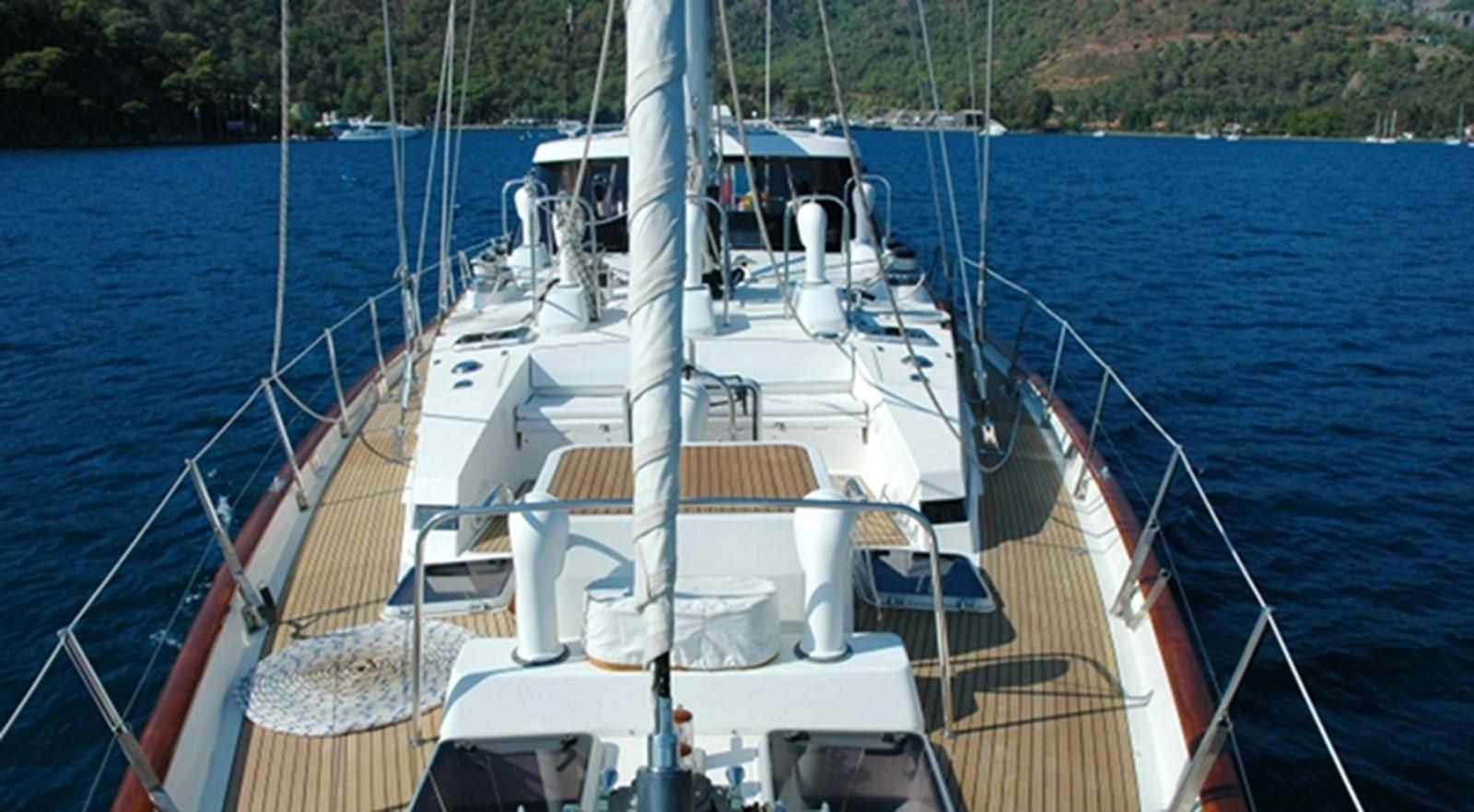 1991 CIM SHIPYARD MAXI 88 Cutter Sloop Cruising Sailboat 2371550