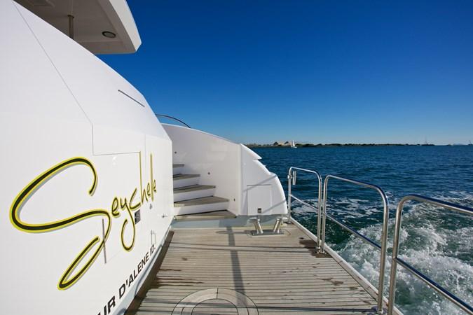 SEYCHELLE 111 swim step 2 1992 NORTHCOAST YACHTS Tri-Deck Motor Yacht Motor Yacht 2374137