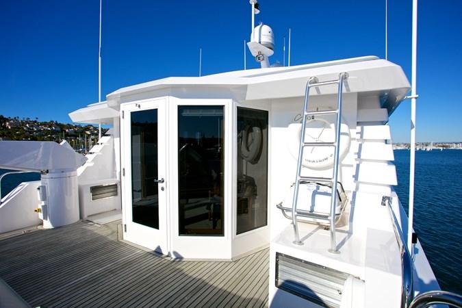 SEYCHELLE 111 bridge deck 1992 NORTHCOAST YACHTS Tri-Deck Motor Yacht Motor Yacht 2374141