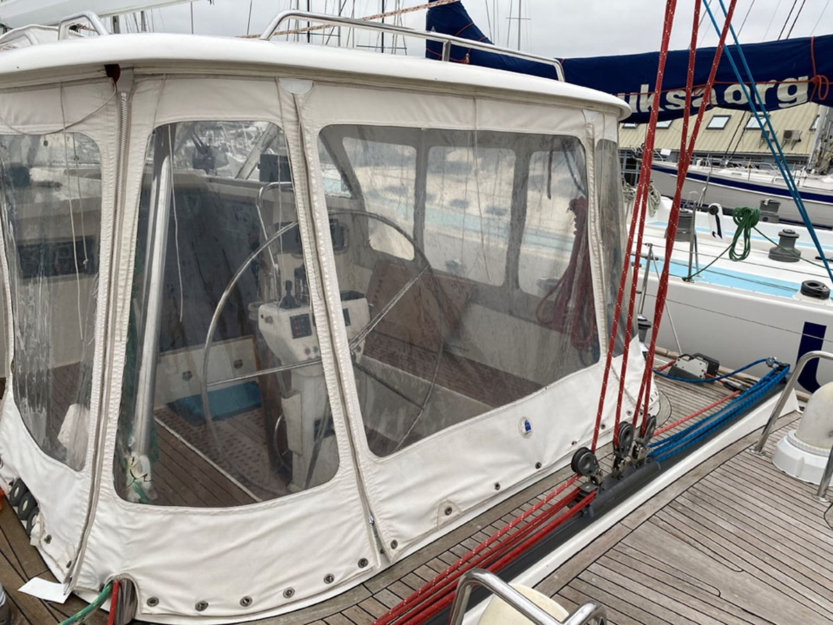 farr-60-pilothouse-53 1999 NAJAD Farr 60 Pilothouse Cruising Sailboat 2830146