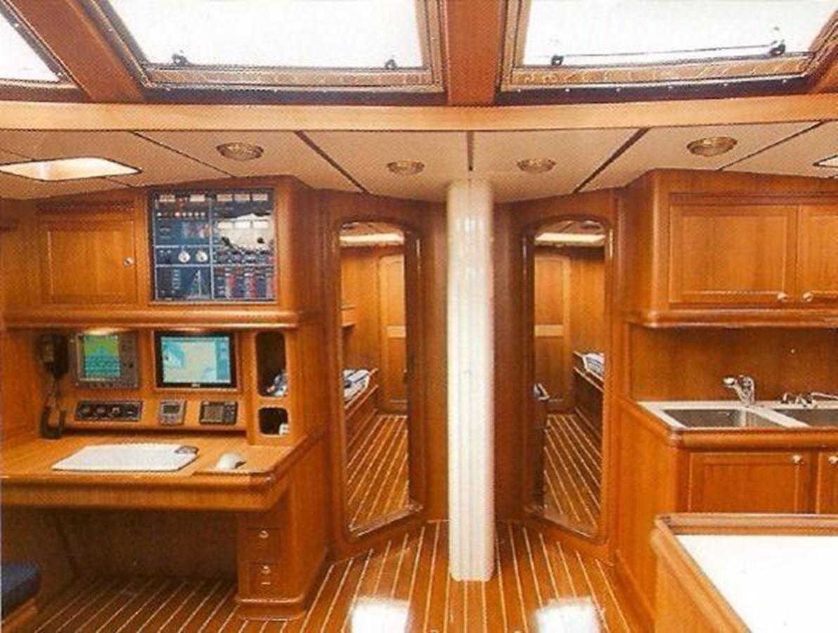 Nav Table 2001 FRANCHINI  Cruising Sailboat 2378052