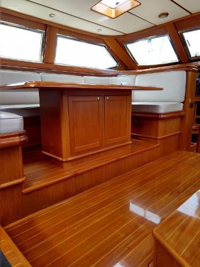 Salon Table  2001 FRANCHINI  Cruising Sailboat 2378060