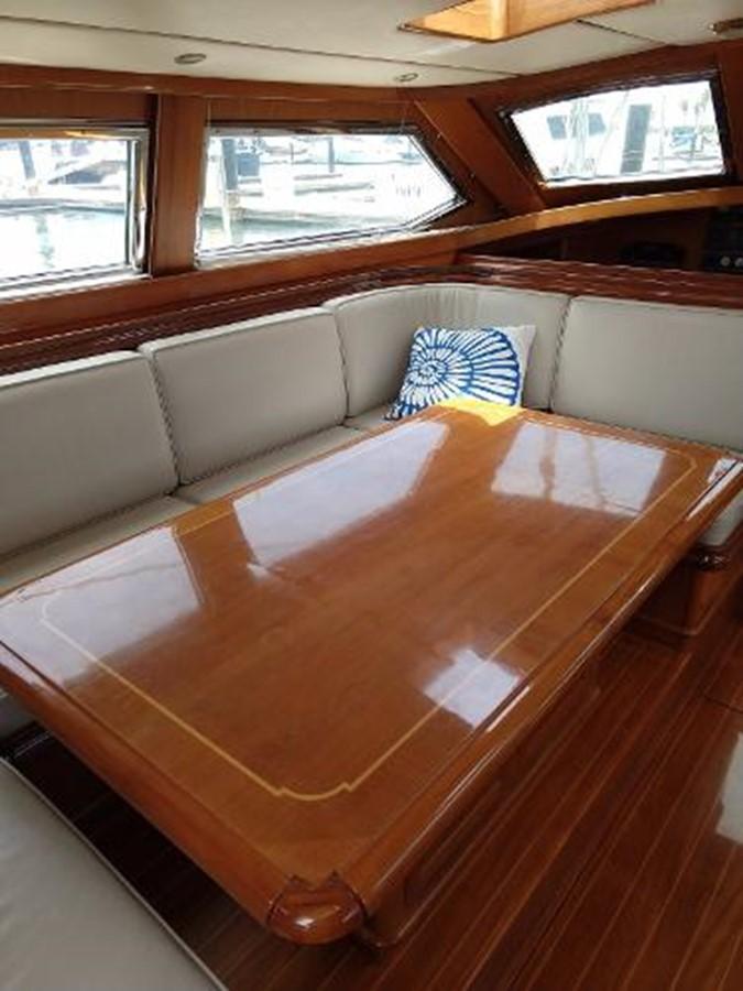 Salon Dinning Table 2001 FRANCHINI  Cruising Sailboat 2378062