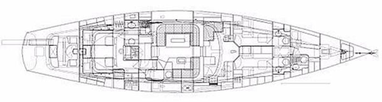Lay Out 2001 FRANCHINI  Cruising Sailboat 2378088