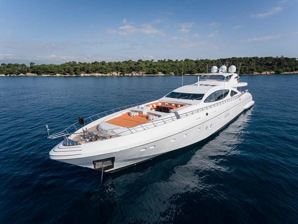 3 - Aerial 2011 OVERMARINE - MANGUSTA 165 Motor Yacht 2722154