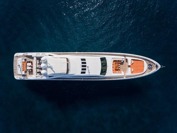 20-Aerial last 2011 OVERMARINE - MANGUSTA 165 Motor Yacht 2722168