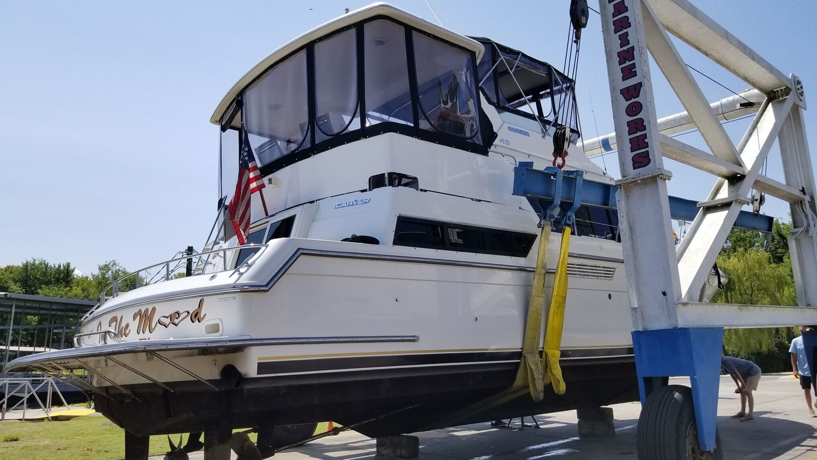 1992 CARVER 43 CPMY Cruiser 2380855