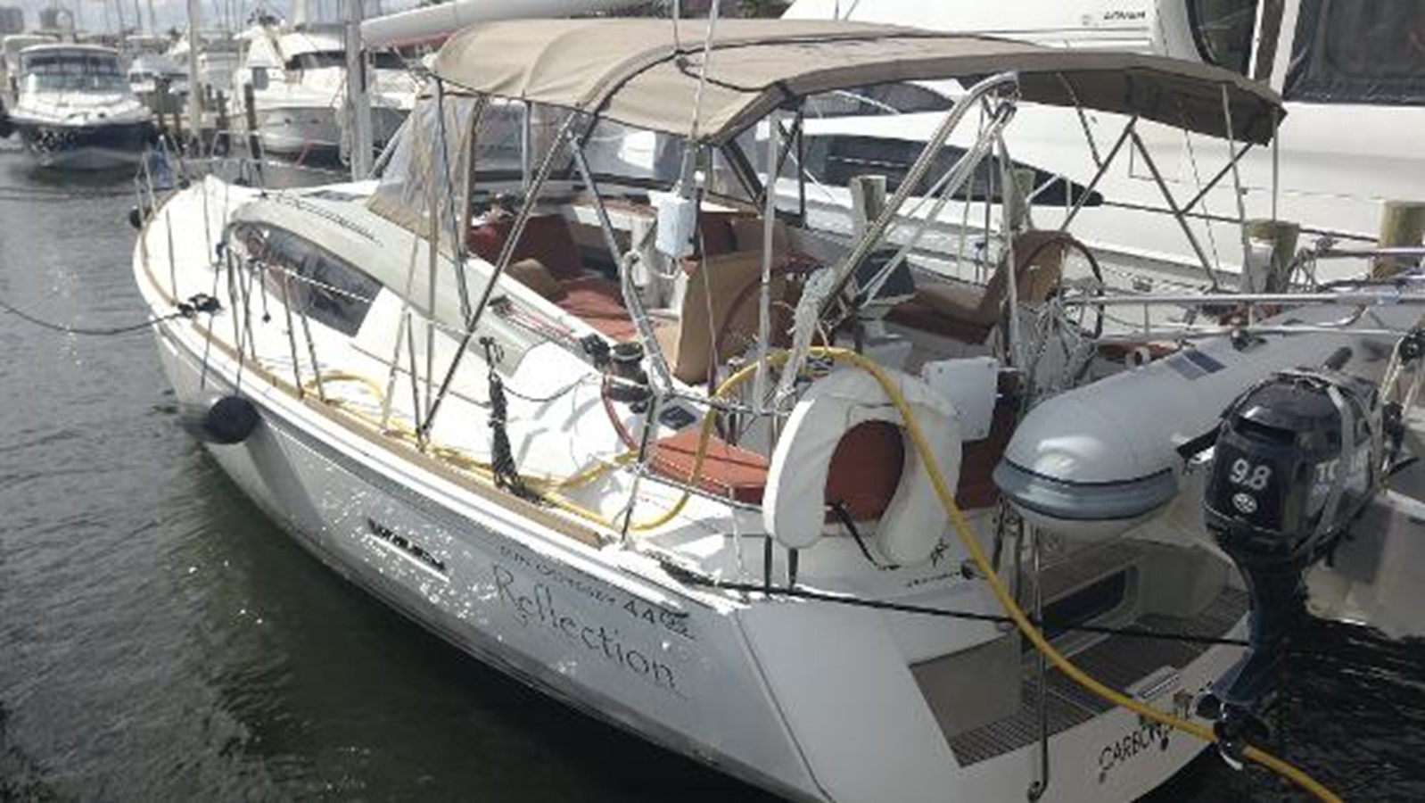 2012 JEANNEAU Sun Odyssey 44 DS Cruising Sailboat 2385314
