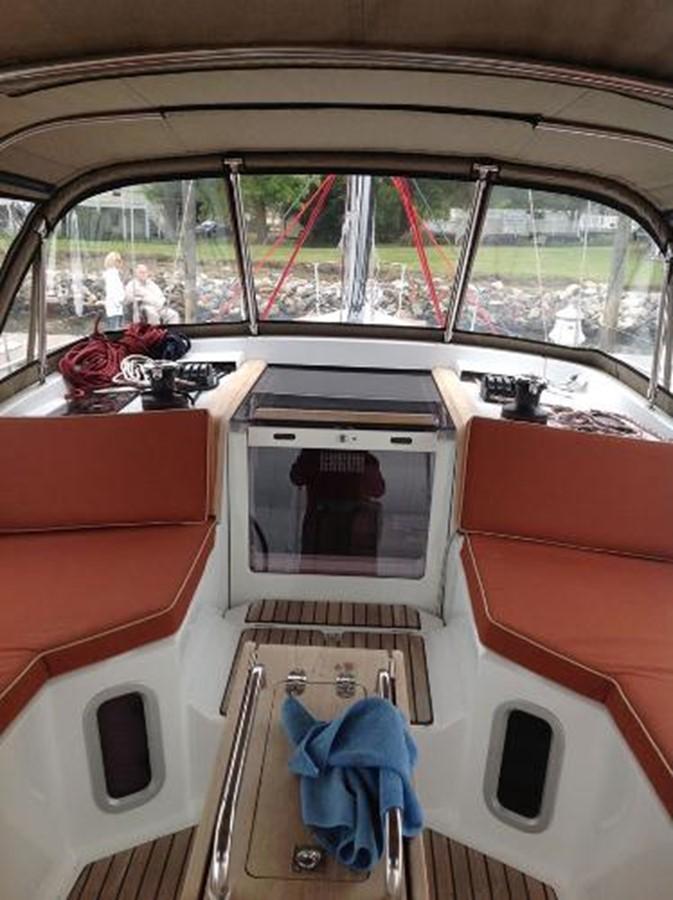 Custom Dodger 2012 JEANNEAU Sun Odyssey 44 DS Cruising Sailboat 2385323