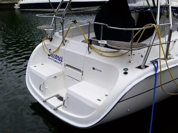 2003 HUNTER 356 Cruising Sailboat 2386254