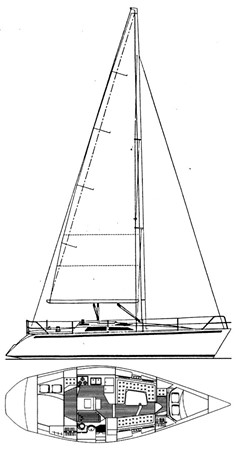 1994 HUNTER  Sloop 2389319