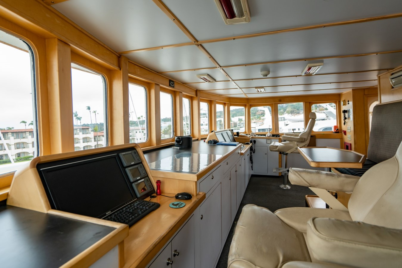 Pilot House 1978 BLOUNT MARINE Expedition Vessel Expedition Yacht 2480145