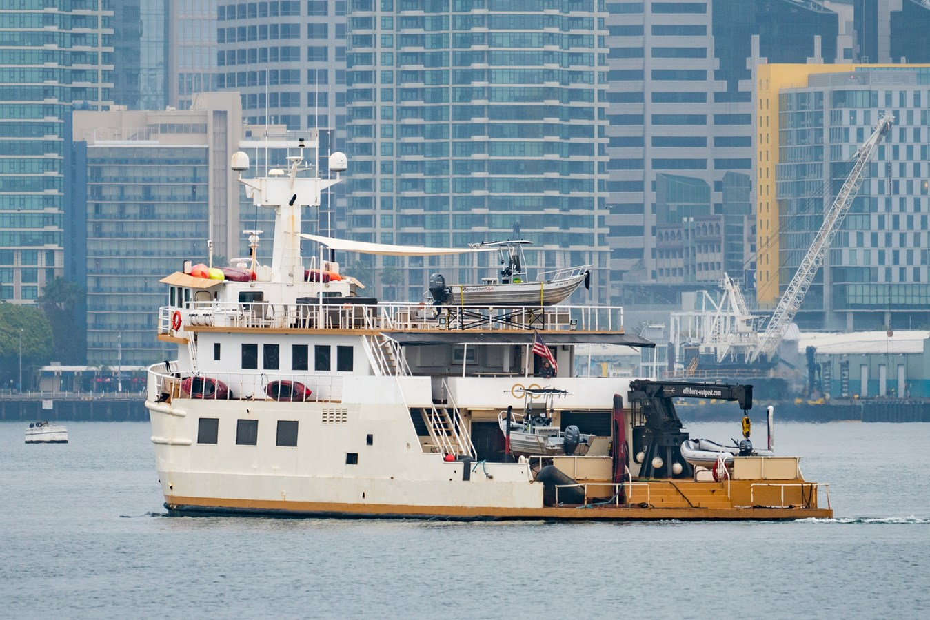 PACIFIC PROVIDER 160 Stern Profile  1978 BLOUNT MARINE Expedition Vessel Expedition Yacht 2737742
