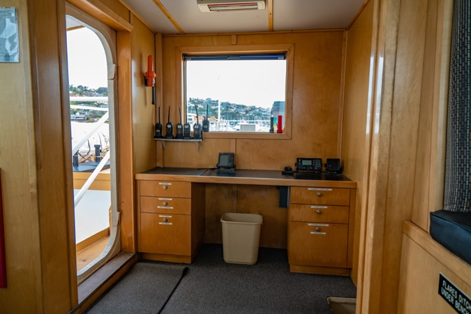 Pilot House Office 1978 BLOUNT MARINE Expedition Vessel Expedition Yacht 2480146